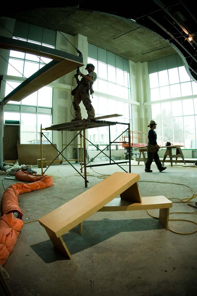 Child Development Centre-- interior under construction
