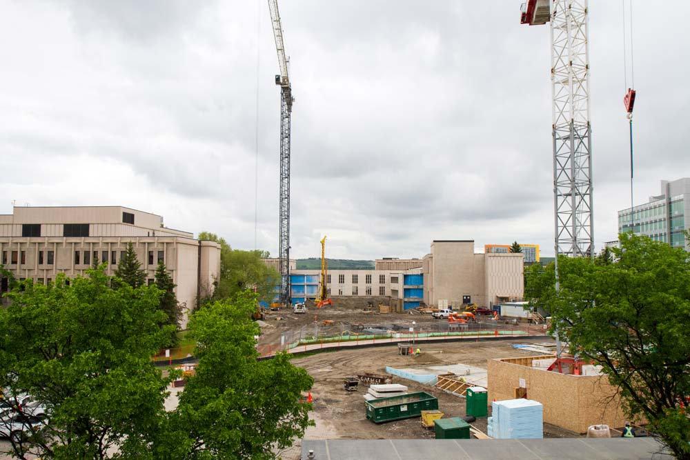 Schulich School of Engineering expansion under construction