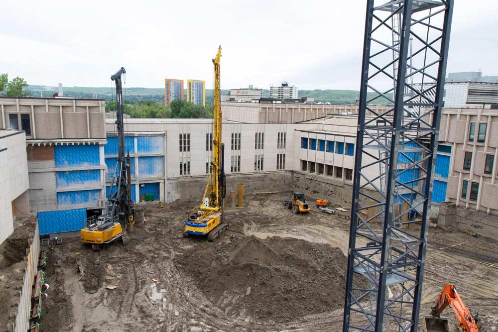 Schulich School of Engineering expansion under construction