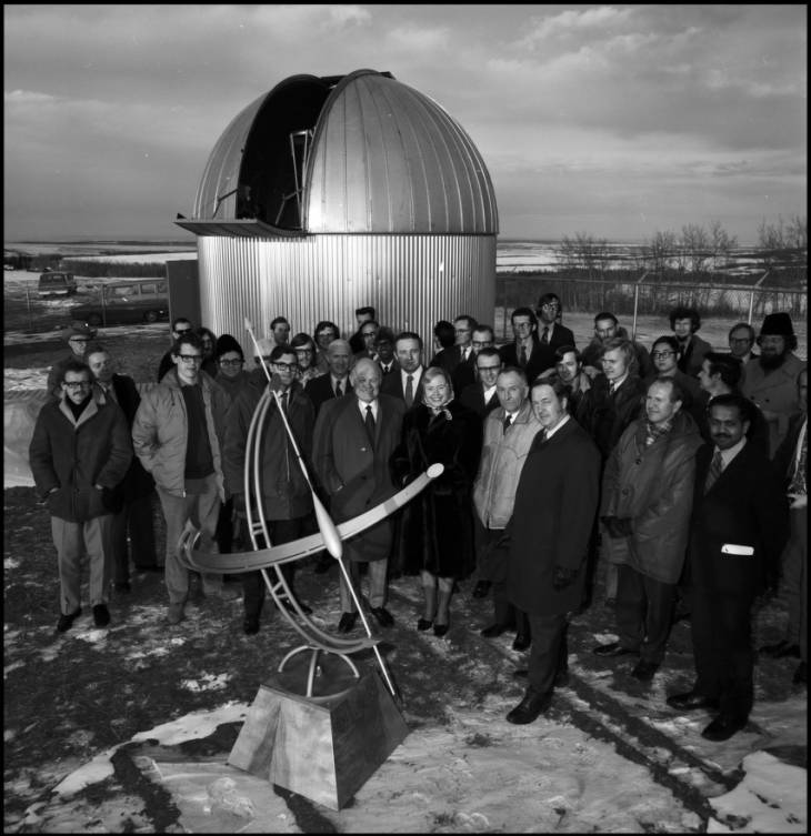 Rothney Observatory official opening