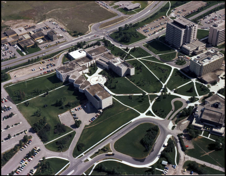 Engineering complex -- aerial view