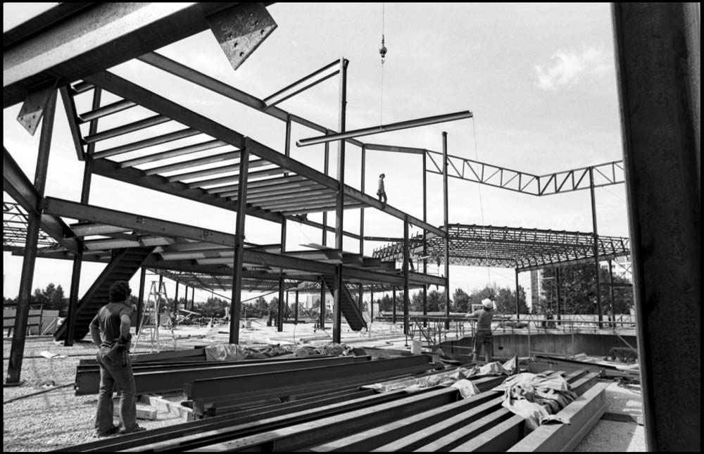Reeve Theatre under construction