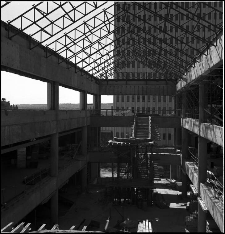 Scurfield Hall under construction