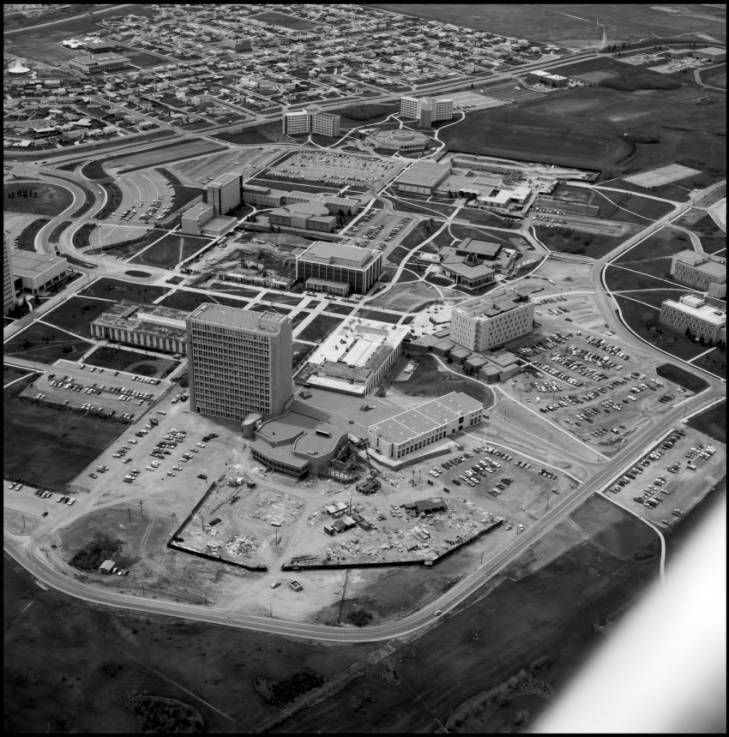 Science Theatres aerial view