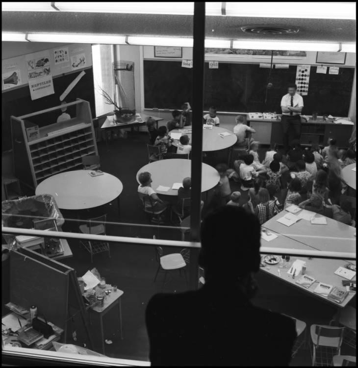 Demonstration School - interior