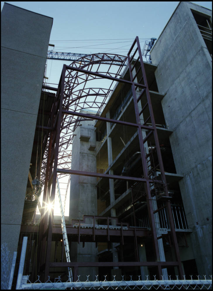 Heritage Medical Research Building under construction
