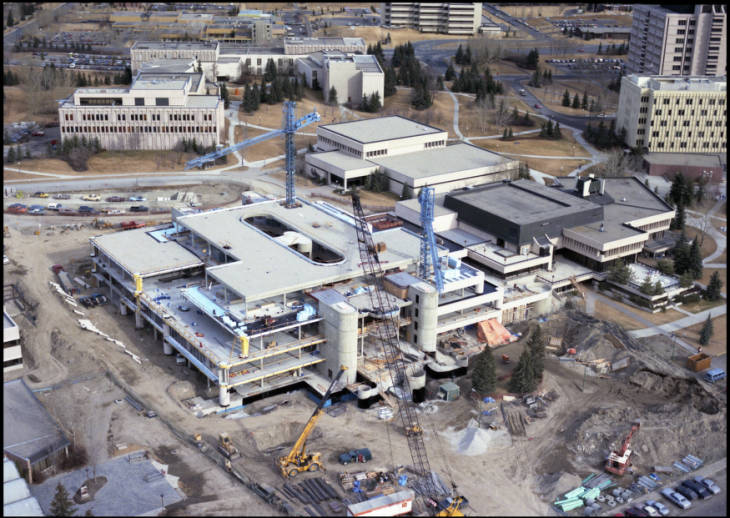 MacEwan Hall Olympic expansion