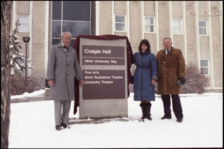 Dedication of Craigie Hall