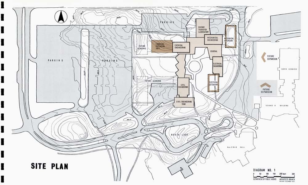 Engineering complex site plan
