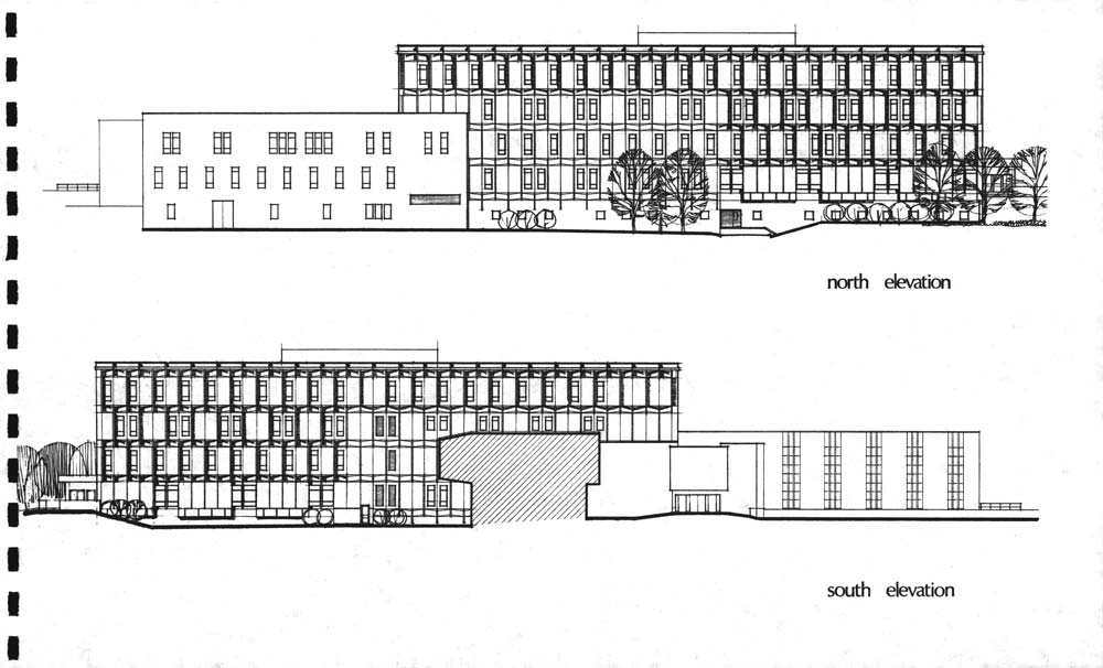 Chemical Engineering proposed elevations