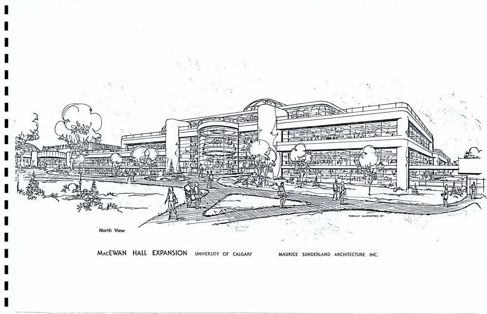 MacEwan Student Centre artist's rendering