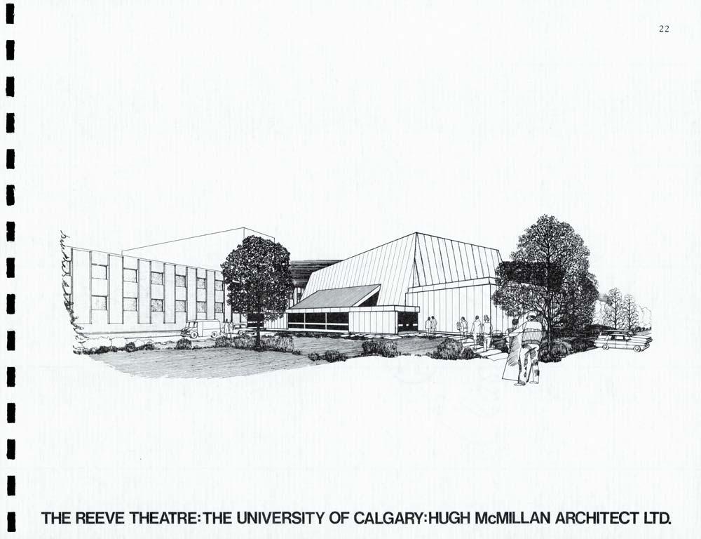 Reeve Theatre artist's rendering