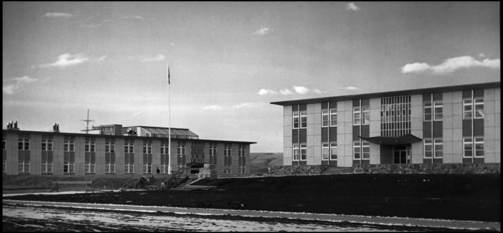Science A and Arts and Education building (later Administration)