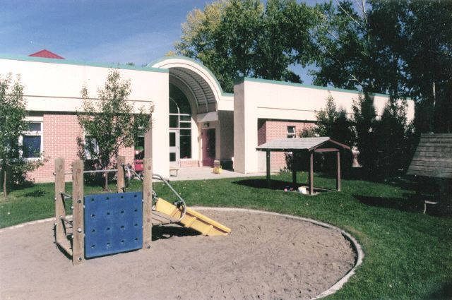 Child Care Centre outside play area