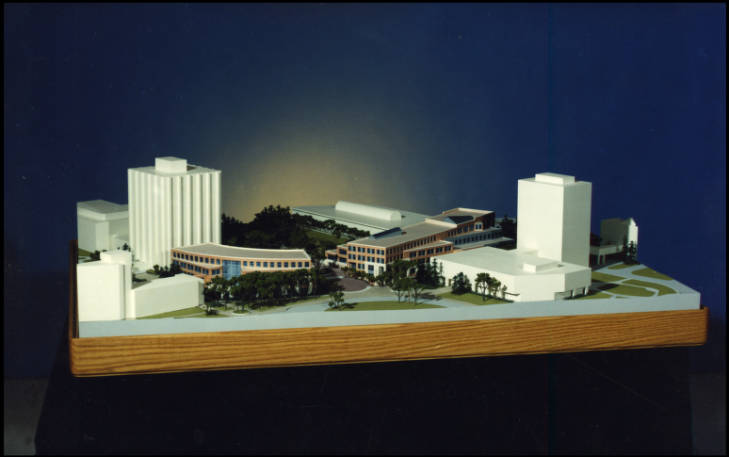 Professional Faculties Building model