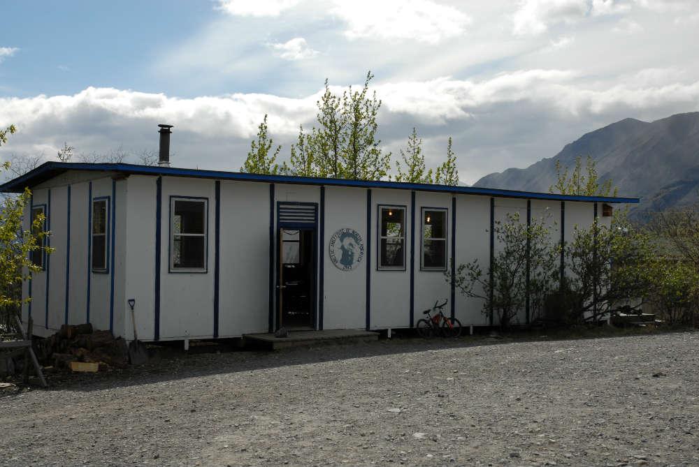 Kluane outbuilding