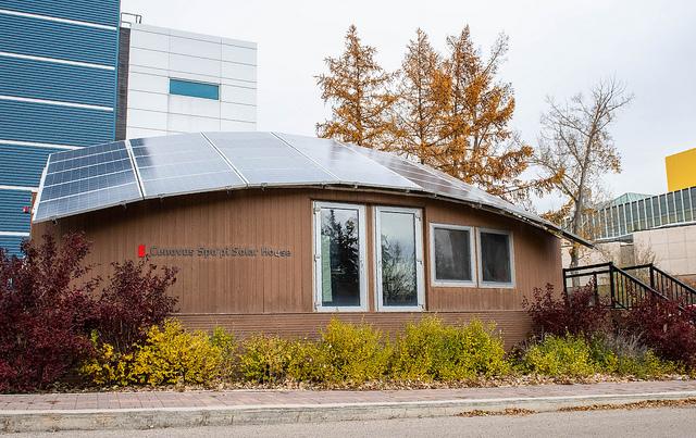 Cenovus Spo'pi Solar House